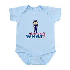 Police Woman Infant Bodysuit