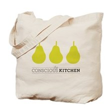 The Conscious Kitchen Three Pears Tote Bag