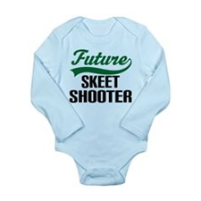 Future Skeet Shooter Long Sleeve Infant Bodysuit