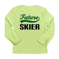 Future Skier Long Sleeve Infant T-Shirt