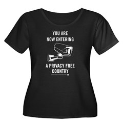 Privacy Free Country Plus Size T-Shirt