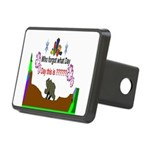 Who Forgot What Day? Rectangular Hitch Cover