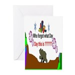 Who Forgot Greeting Cards (Pk of 10)