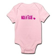Made In Texas (pink) Body Suit