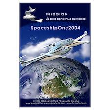 SpaceShipOne Earth View