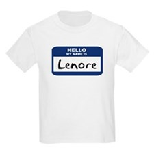 Hello: Lenore Kids T-Shirt