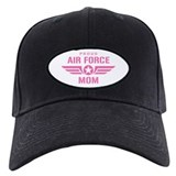 Proud Air Force Mom W [pink] Baseball Hat