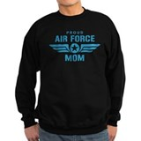 Proud Air Force Mom W Jumper Sweater