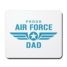 Proud Air Force Dad W Mousepad