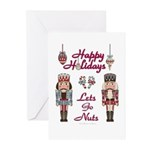 Happy Holidays Nutcracker Greeting Cards (Pk of 20