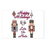 Happy Holidays Nutcracker Postcards (Package of 8)