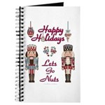Happy Holidays Nutcracker Journal