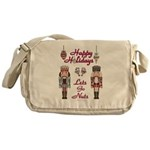 Happy Holidays Nutcracker Messenger Bag
