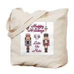 Happy Holidays Nutcracker Tote Bag