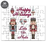 Happy Holidays Nutcracker Puzzle