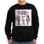 Happy Holidays Nutcracker Sweatshirt