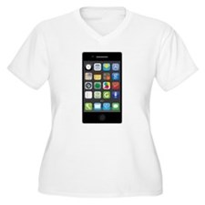 Phone Plus Size T-Shirt