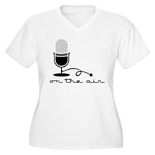 On The Air Plus Size T-Shirt