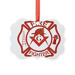 MASONIC FIRE-FIGHTER Ornament