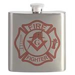 MASONIC FIRE-FIGHTER Flask