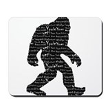 Bigfoot Sasquatch Yowie Yeti Yaren Skunk Ape Mouse