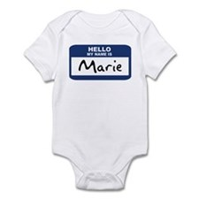 Hello: Marie Infant Bodysuit