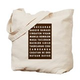 Choco PH Cities Tote Bag