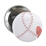 Baseball for Breast Cancer 2.25&quot; Button
