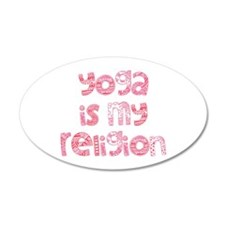 yoga religion Wall Decal