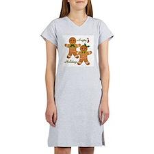 Gingerbread Man - Boy Girl Women's Nightshirt