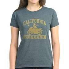 California Republic female Biker Tee