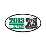 Compadres Golf XXV Phoenix Patches