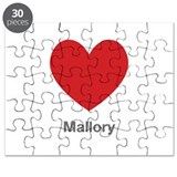 Mallory Big Heart Puzzle