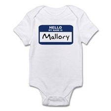 Hello: Mallory Infant Bodysuit