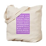 Purple MX Cities Tote Bag