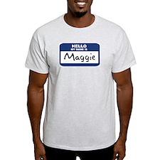 Hello: Maggie Ash Grey T-Shirt