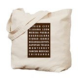 Choco MX Cities Tote Bag