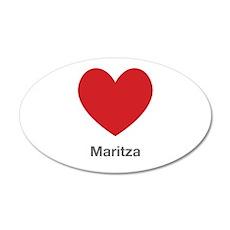 Maritza Big Heart Wall Decal