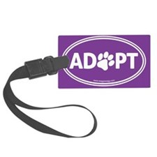 Adopt Luggage Tag