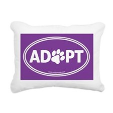 Adopt Rectangular Canvas Pillow