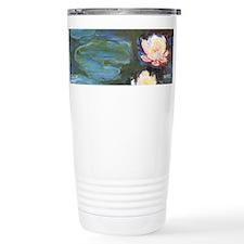 Waterlilies by Monet wraparound Travel Mug