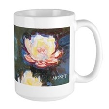 Claude Monet Waterlilies wraparound Mug