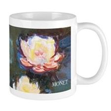 Claude Monet Waterlilies wraparound Small Mug