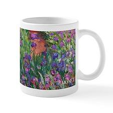 Monet Iris Garden Wraparound Small Mug