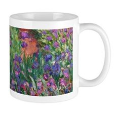 Monet Iris Garden Wraparound Small Mugs