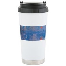 Monet Impressionist Sunrise Wraparound Travel Mug