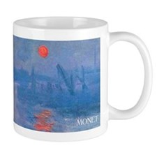 Monet Impressionist Sunrise Wraparound Small Mug