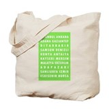 Celery Turkey Cities Tote Bag