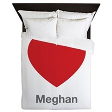 Meghan Big Heart Queen Duvet