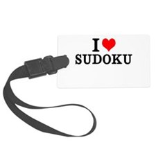 Sudoku Luggage Tag